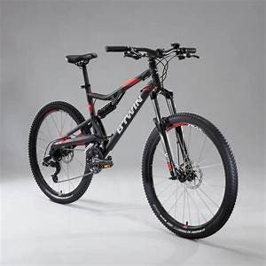 BICI DOBLE SUSPENSION ROCKRIDER 520S