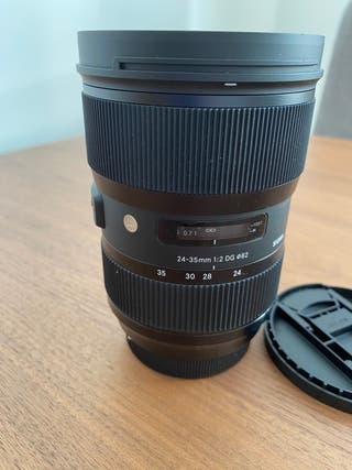Sigma 24-35mm F2 HSM Art - Objetivo para Canon