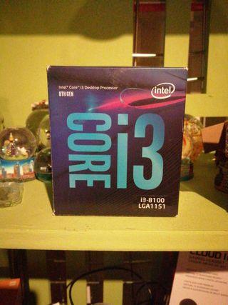 Procesador Intel i3-8100