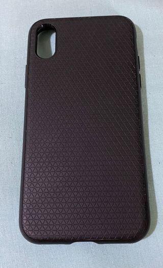 Iphone X 64gb completo + funda Spigen