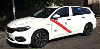 licencia taxi Madrid viernes impar