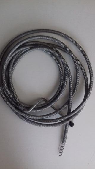 Cable desatascador tuberias