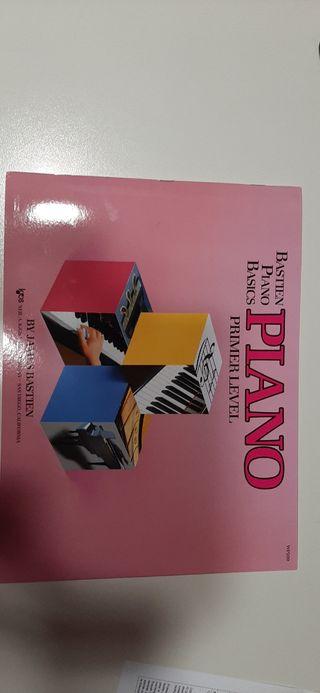 Libro piano básic bastien