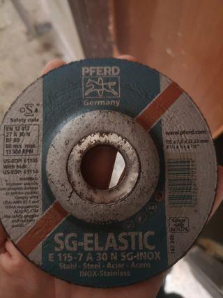 65 Discos de corte de acero