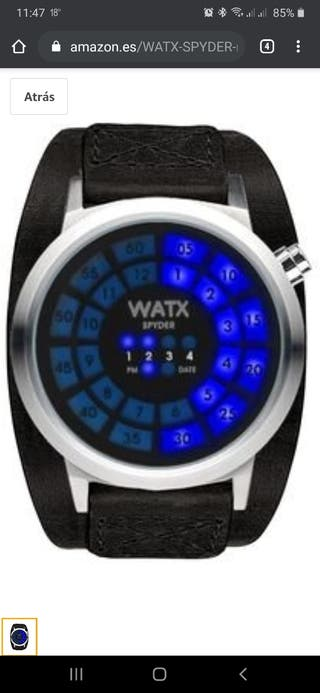 Reloj original marca WATX SPYDER