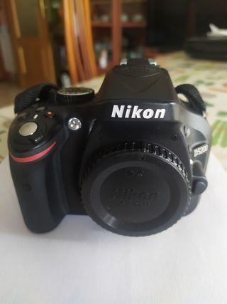 NIKON D5200 Y ACCESORIOS