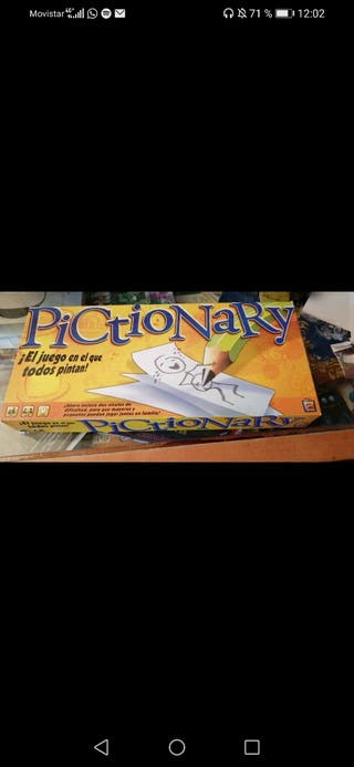 juego pictionary
