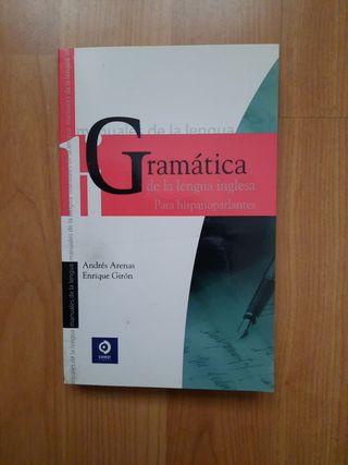 Gramática de la lengua inglesa.