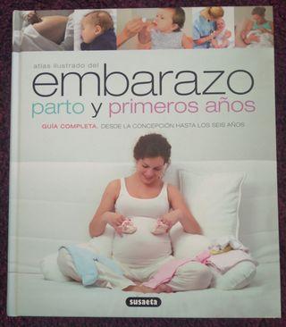 """Libro: """"Embarazo, parto y primeros años"""""""