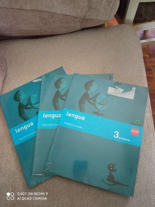 Libros tercero de primaria SM y Oxford