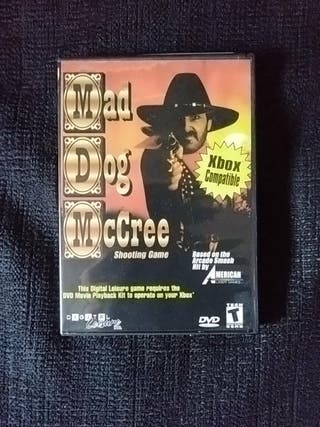 Mad Dog Mc Cree - DVD video Game - XBOX