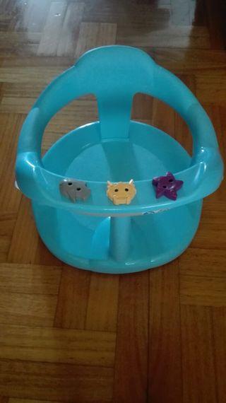 Asiento de baño azul, Aquababy