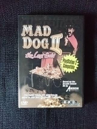 Mad Dog 2: The Lost gold - DVD Video Game - PS2