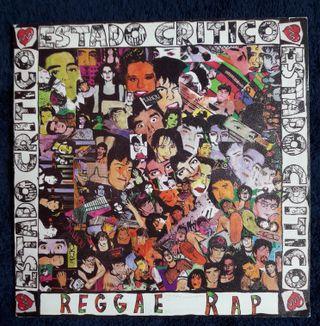 Single Vinilo Rap Reggae Estado Critico 1991