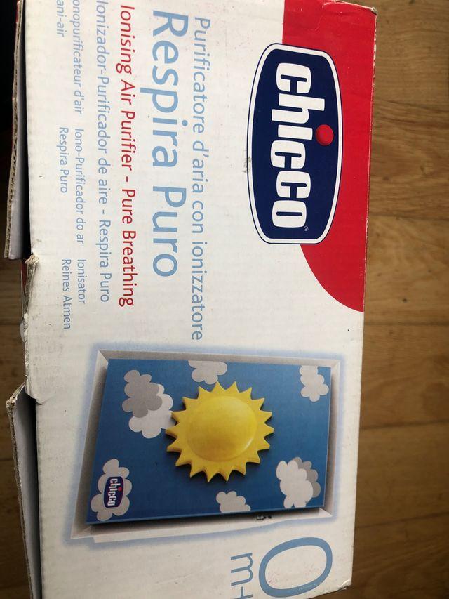 Purificador aire nuevo marca Chicco