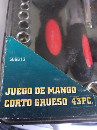 Juego de mango corto