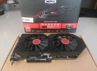 Tarjeta Gráfica XFX Radeon RX 580 GTS 8g AMD 4K PC