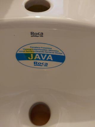 lavabo de encimera nuevo marca roca( java)
