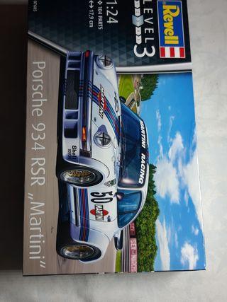 coche maqueta porsche 934 rsr martini 1/24