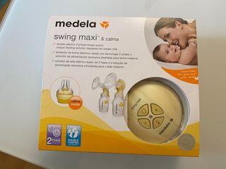 Sacaleches doble - medela swing maxi & calma