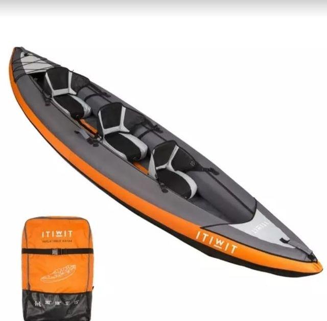 Kayak ITIWIT Hinchable +remos+hinchador+bolsaestan