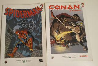 Spiderman y Conan el bárbaro 2