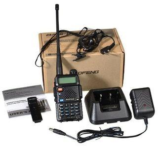 walkie talkie Baofeng UV5R emisora bibanda