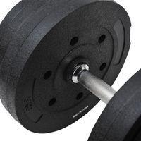 Juego de Mancuernas Pesas de Fitness 40KG