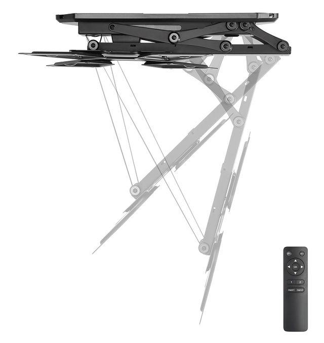 Soporte tv techo motorizado