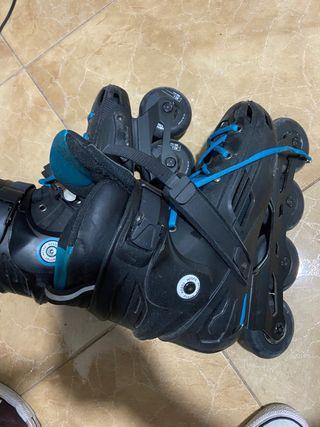 Patines rollers freeskate freeride hardboot