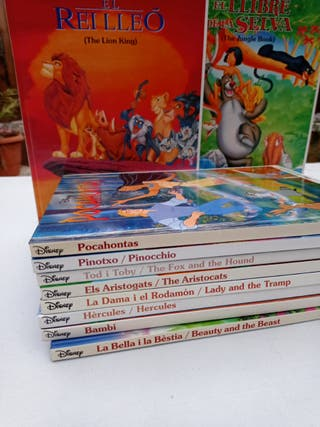 Libros Disney Catalán-Inglés