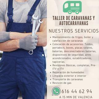 TALLER ESPECIALIZADO EN CARAVANAS Y AUTOCARAVANAS