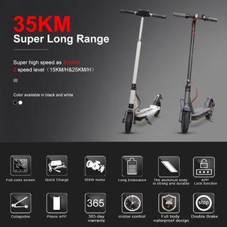Brand new electric scooter 35km range