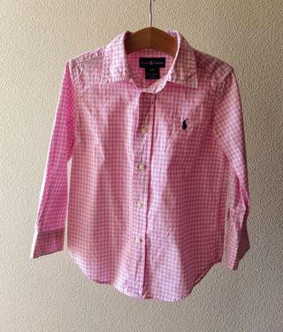 Camisa Ralph Lauren 4 años