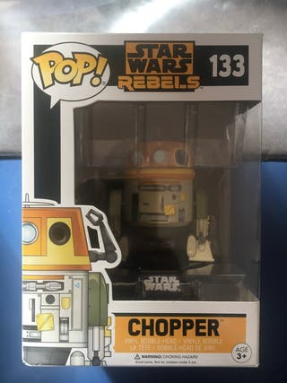 Funko pop chopper 133 star wars rebels