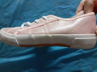 Zapatillas niña Rosa T.31