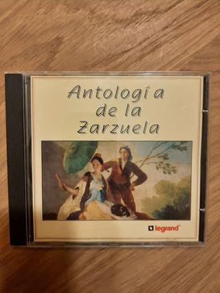 cd música Zarzuela