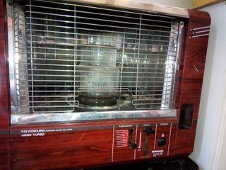 estufa de keroseno y 8 litros de keroseno