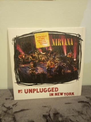 vinilo blanco nirvana unplugged new york