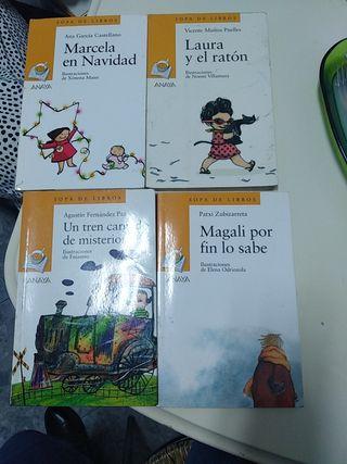 libros anaya lecturas
