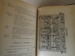 """Libro antiguo """"Método práctico de lengua alemana"""""""