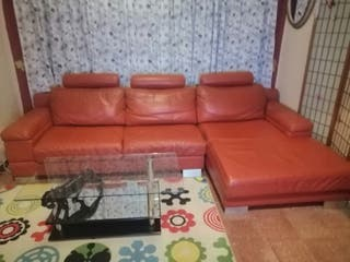sofa rinconera y un sillon grande