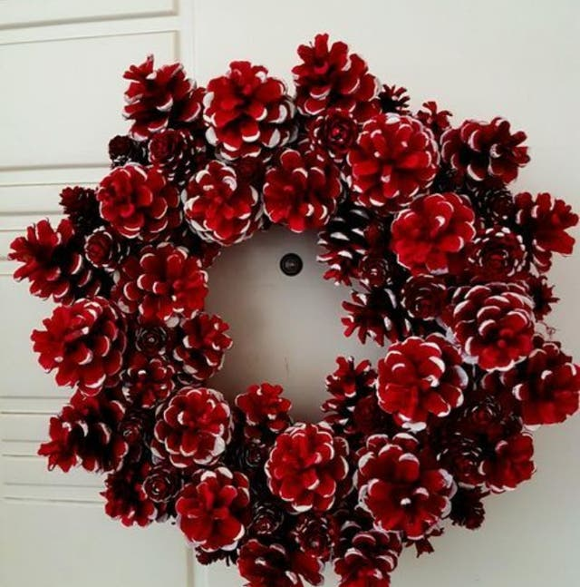 coronas de navidad naturales
