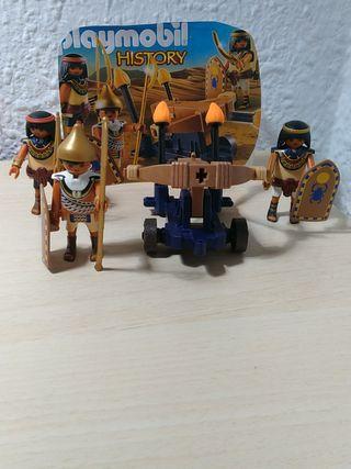 Playmobil soldados egipcios..ref..5388