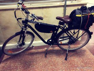 Bicicleta electrica. Marca B'Twin modelo elops 900