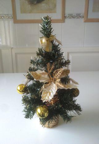 Arbolito Mesa Navidad 40 cm NUEVO