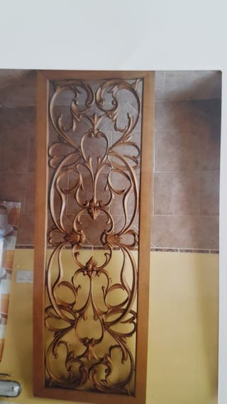 puerta de madera unica