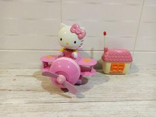 avión Hello Kitty control remoto