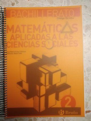 Libros 2° Bachillerato ciencias Sociales