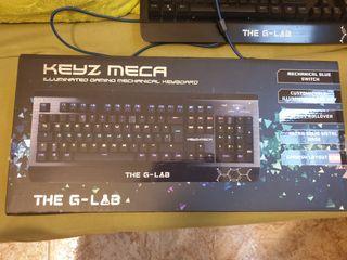 Teclado G-Lab mecánico.